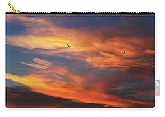 On Eagle's Wings Carry-all Pouch by Karen Slagle