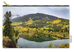 Carry-all Pouch featuring the photograph On Golden Pond by Tim Stanley
