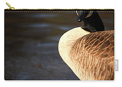 Carry-all Pouch featuring the photograph On Ice by Karol Livote