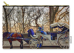 On My Bucket List Central Park Carriage Ride Carry-all Pouch