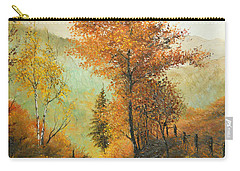 On My Way Home Carry-all Pouch by Sorin Apostolescu