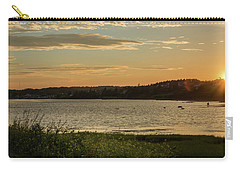 Carry-all Pouch featuring the photograph On North Rustico Harbour by Chris Bordeleau