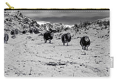 Carry-all Pouch featuring the photograph On Our Way by Keith Elliott