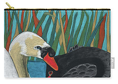 On Peaceful Pond Carry-all Pouch by Arlene Crafton