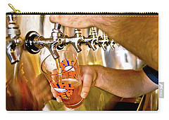 Carry-all Pouch featuring the photograph On Tap by Linda Unger