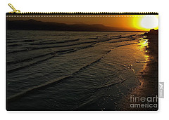 Carry-all Pouch featuring the photograph On The Banks Of The Salton Sea by Chris Tarpening