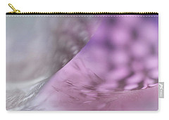 Carry-all Pouch featuring the photograph On The Brink Of A Foul. Angels Flight Series by Jenny Rainbow
