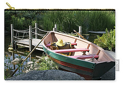 On The Dock Carry-all Pouch by Lois Lepisto