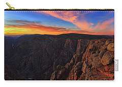 Carry-all Pouch featuring the photograph On The Edge by Rick Furmanek