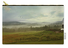 Carry-all Pouch featuring the photograph On The Farm by John Rivera