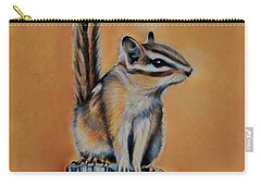 On The Fence Carry-all Pouch by Jean Cormier