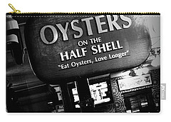 On The Half Shell - Bw Carry-all Pouch