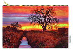 Carry-all Pouch featuring the photograph On The Horizon by Greg Norrell