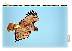 Carry-all Pouch featuring the photograph On The Hunt by AJ Schibig