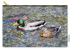 Carry-all Pouch featuring the photograph On The Hunt by David Lawson