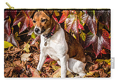 On The Leaves Carry-all Pouch