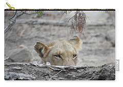 Carry-all Pouch featuring the photograph On The Lookout by Betty-Anne McDonald
