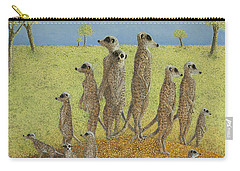 On The Lookout Carry-all Pouch by Pat Scott