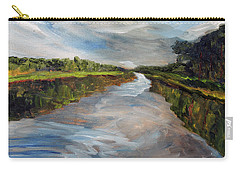 On The Mashpee River Carry-all Pouch