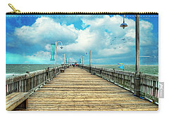 On The Pier At Tybee Carry-all Pouch
