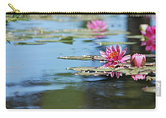 Carry-all Pouch featuring the photograph On The Pond by Amee Cave