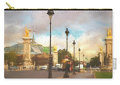 On The Pont Alexandre  Carry-all Pouch