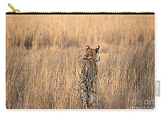 On The Prowl Carry-all Pouch by Pravine Chester
