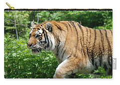 Carry-all Pouch featuring the photograph On The Prowl by Richard Bryce and Family