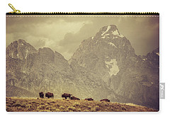 On The Ridge Carry-all Pouch by Mary Hone