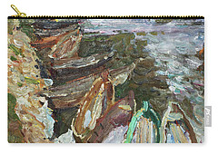 On The River Chusovaya Carry-all Pouch