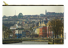 On The River Lee, Cork Ireland Carry-all Pouch by Marie Leslie