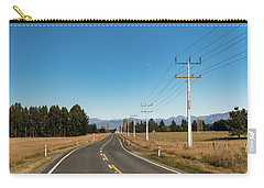 Carry-all Pouch featuring the photograph On The Road by Gary Eason