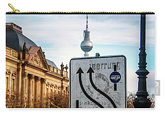 On The Road In Berlin Carry-all Pouch