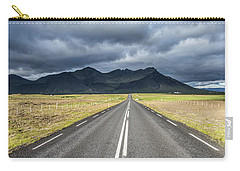 On The Road In Iceland Carry-all Pouch