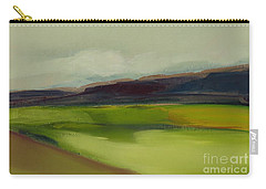 Carry-all Pouch featuring the painting On The Road by Michelle Abrams