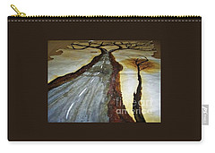 On The Road Of The Tree Of Life Carry-all Pouch by Talisa Hartley