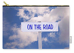 On The Road Sign Carry-all Pouch