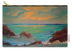 On The Rocks Carry-all Pouch by Holly Martinson