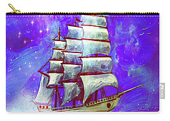 On The Sea At Sunset Carry-all Pouch