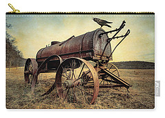 On The Water Wagon - Agricultural Relic Carry-all Pouch