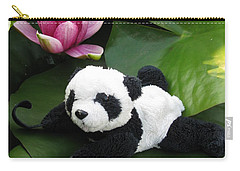 Carry-all Pouch featuring the photograph On The Waterlily by Ausra Huntington nee Paulauskaite