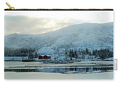 Carry-all Pouch featuring the photograph On My Way Through Lofoten 2 by Dubi Roman