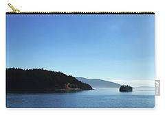 Carry-all Pouch featuring the photograph On The Way To Orcas by Lorraine Devon Wilke