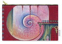 Carry-all Pouch featuring the painting On The Way To The Treasury by Anna Ewa Miarczynska
