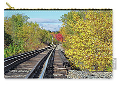 Carry-all Pouch featuring the photograph On To Fall by Glenn Gordon