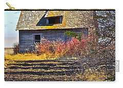 Carry-all Pouch featuring the photograph Once A Lovely Home by Johanna Bruwer
