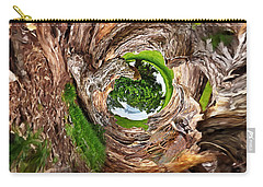 Carry-all Pouch featuring the photograph Once A Tree by Pennie  McCracken