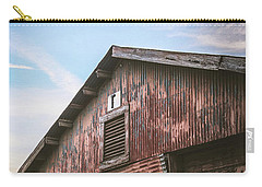 Carry-all Pouch featuring the photograph Once Industrial - Series 1 by Trish Mistric