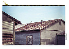 Carry-all Pouch featuring the photograph Once Industrial - Series 2 by Trish Mistric