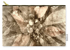 Once Upon Grandmom's Poinsettia Carry-all Pouch